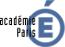 Logo Académie Paris