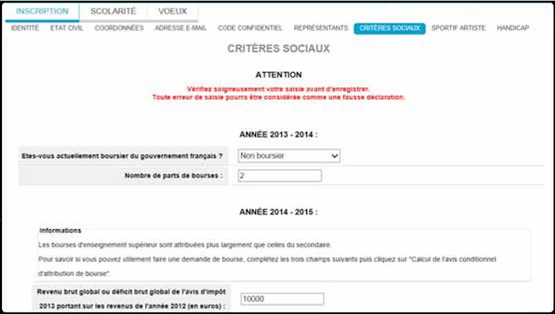 De Demande De Dossier Social Aupres Du Crous Bourse Et Logementpng